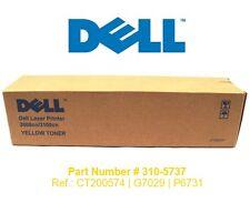 TONER DELL · AMARILLO (310-5737 | CT200574) · 3000CN / 3100CN · NUEVO | ORIGINAL
