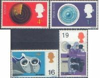 Great Britain 1967 DISCOVERIES (4) SG 752-5 Unhinged Mint