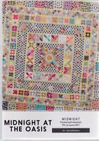 Midnight at the Oasis - pieced & applique quilt PATTERN - Jen Kingwell