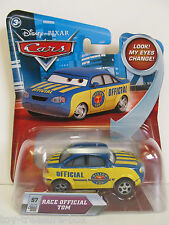 Disney PIXAR Cars #57 RACE OFFICAL TOM with Changing Eyes - Ages 3+
