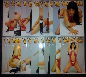 VAMPIRELLA (deutsch) # 1 - 22 KOMPLETT -  FOTO COVER - MG PUBLISHING 2002 - TOP