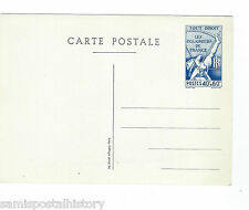 France early mint stamped post card - Scouts