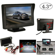 4.3 inch TFT LCD Car Color Rear View Reversing Monitor Display Screen for DVD GP