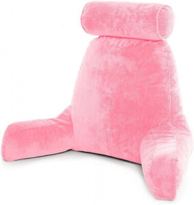 (- Original Version, Pink) - Husband Pillow - Big Bedrest Reading & Support