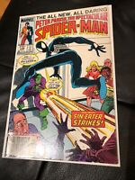 THE SPECTACULAR SPIDER-MAN #108 VF/NM $0.75 Canadian News Stand Variant L@@K!