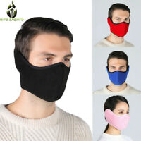 Winter Half Face Cover Skiing Snowboard Motorcycle Bike Windproof Warmer Thermal