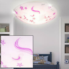 LED Cristal Niños Dormitorio Lámpara de techo unicornio ESTRELLA motivo niña