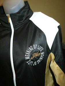 New KELLY CLARKSON Meaning Of Life Limited Edition Staff Crew TOUR JACKET-Large