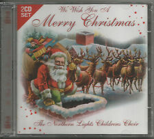 2 CDS - WE WISH YOU A MERRY CHRISTMAS - THE NORTHERN LIGHTS CHILDRENS CHOIR!!!