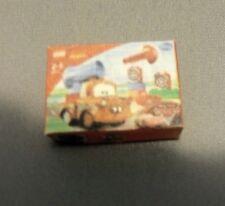 "Dollhouse Miniature 1:12 Scale The Cars ""Mater"" Lego Box"
