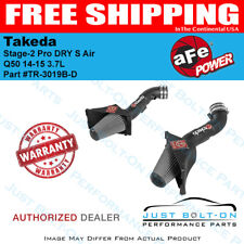 AFE Takeda Stage-2 Pro DRY S Air for Infiniti Q50 14-15 3.7L TR-3019B-D