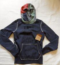 100% True Religion Kapuzen Sweater, Farbe: Dunkelblau