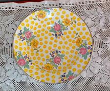 MacKenzie-Childs Buttercup Salad Enamel Bowl - 4 avail+ matching pcs VERY RARE