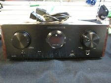 Marantz HD-AMP1 Stereo Integrated Amplifier w/ Built-in DAC Black w Wood Panels