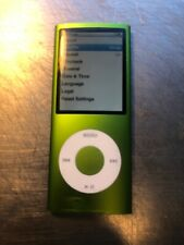 Apple iPod nano 4th Generation Green (8 GB) Nice Looking NEW BATTERY
