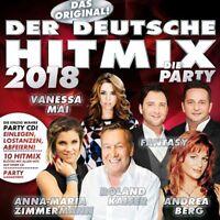 DER DEUTSCHE HITMIX 2018   CD NEU