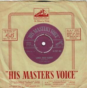 ELVIS PRESLEY Lawdy, Miss Clawdy Vinyl Record Single 7 Inch HMV 1957 Rock n Roll