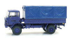 Artitec 487.052.10 NL DAF YA 4442 NL Kmar blau H0 1:87 Fertigmodell LKW Pritsche