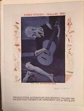 """David Hockney Pablo Picasso 1977 Mini Poster Authorised Repro.14x10"""" C62"""