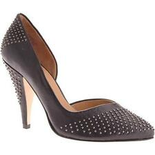 Boutique 9 Darcy Black Leather Studded PUMPS HEELS 7.5