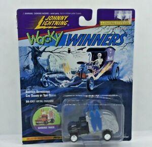 Johnny Lightning Wacky Winners Garbage Truck Black Series 4 NEW