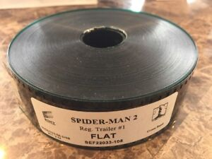 Spider-Man 2 35mm TRAILER REEL MOVIE THEATER - Sony Pictures Marvel Film