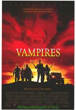 VAMPIRES & THE  FOG MOVIE POSTER JOHN CARPENTER + BLADE T.+ UNDERWORLD EVOLUTION