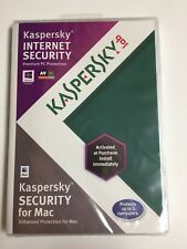 Unopened Kaspersky Lab Internet Security for PC or Mac for 3 Computers 2012