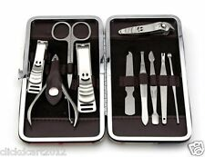 10 in 1 Pedicure Manicure Set Nail Clippers Cuticle Clippers Grooming Kit Case