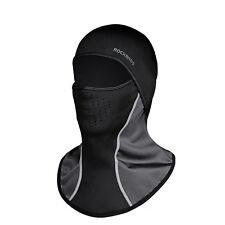 RockBros Cycling Black Hat Windproof Headband Winter Fleece Thermal Cap