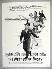 """""""The West Point Story"""" Movie PRINT AD - 1950 ~~ Susan Hayward, James Cagney"""