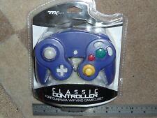 GAMECUBE CLASSIC CONTROLLER GAMEPAD GAME PAD BRAND NEW Purple Nintendo Wii Retro