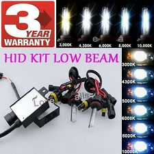 9006 Low Beam or 9005 High Beam HID Headlight Conversion 6K Kit For Cadillac W1