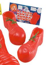 Dimensioni per bambini Circo Clown in Plastica Rosso Scarpe