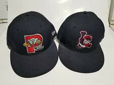 Lowell Spinners/Portland Seadogs Fitted Hat Lot size 7.5