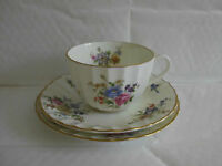 Royal Worcester Roanoke Plate Cup & Saucer Trio