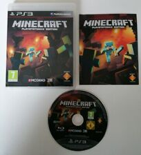 Jeu PS3 Minecraft Complet FR TBE