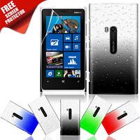 3D Tropfen Pochette de Protection D'Écran pour Smartphone Nokia Lumia 920