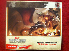 Dungeons & Dragons Miniature Figurines - Ancient Brass Dragon Figure - D&D Icons