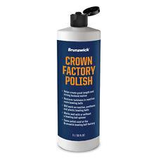 Brunswick Crown Factory Polish Bowling Ball Polish Quart