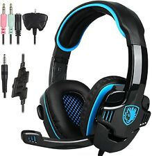 Gaming Headphones With Mic For PC Laptop PS4 XBox One Headset