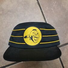 Vintage Milwaukee Braves Snapback Hat Cap Rare 3 Stripe Made In USA