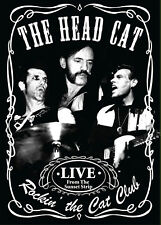 THE HEAD CAT w LEMMY New Sealed 2018 LIVE SUNSET STRIP CONCERT DVD