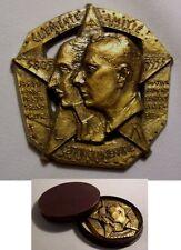 Médaille GRAND ORIENT DE FRANCE 150 ans BONAPARTE et LECOURT franc maçon 1952