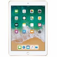"Apple  iPad (2018)  Gold 128GB 9.7"" Wi-Fi & Cellular   Tablet"