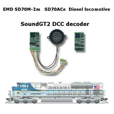 EMD SD70M-2, EMD SD70ACe Diesel  SoundGT2.1 DCC decoder for MTH, ATHEARN, KATO.