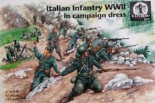Waterloo 1815 1/72 vestido de campaña de Infantería italiana en (la segunda guerra mundial) # AP040