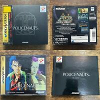 Policenauts SS Boxed Konami Sega Saturn Retro games from Japan