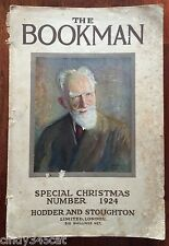 The Bookman 1924 Tipped in Plates Kay Neilsen Copping Art Poetry J M Barrie
