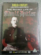 WORLD IN CONFLICT - THE SECRET LIFE OF ADOLF HITLER - DVD - (NEW & SEALED)